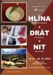 Hlína - drát - nit